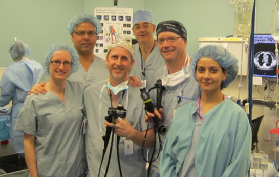 KGH-Cancer-Scope with the help of TB Vets