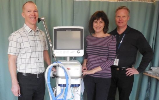 TB Vets Donates Ventilator For The Critical Care Campaign At KBRH Health Foundation