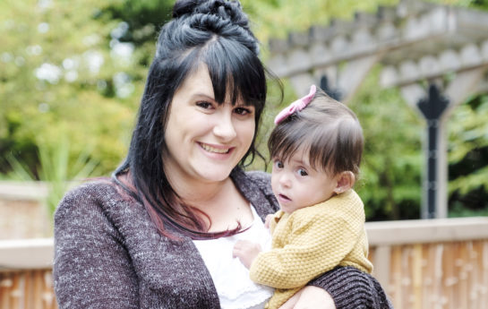 Mom Ashley and Baby Hazel Durance