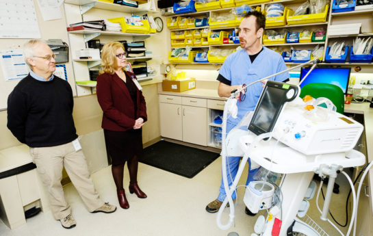 with Respiratory Therapist Jason Zurba