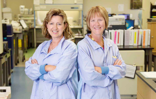 Dr. Edith Blondel-Hill and Dr. Amanda Wilmer | TB Vets and Kelowna General Hospital