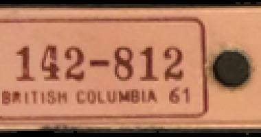1961_TB Vets Key Tag