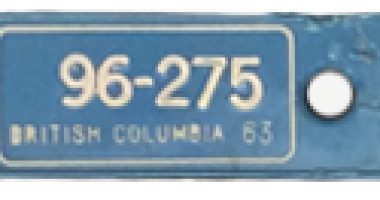 1963-TB Vets Key Tag