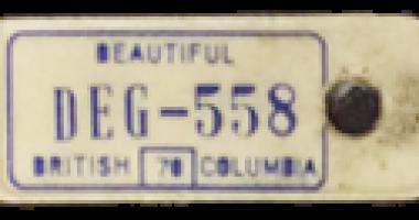 1970_TB Vets Key Tag