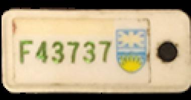 1985_TB Vets Key Tag