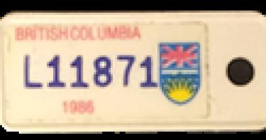1986_TB Vets Key Tag