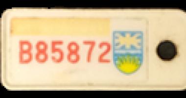 1987_TB Vets Key Tag
