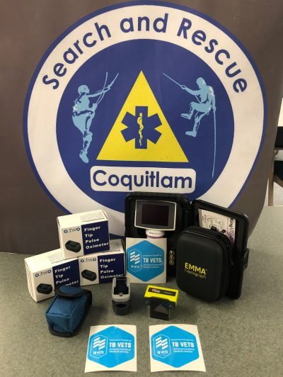 Coquitlam SAR and TB Vets