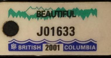 TB Vets Keytag archive 2001