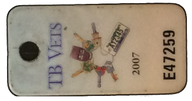 TB Vets Keytag archive 2007
